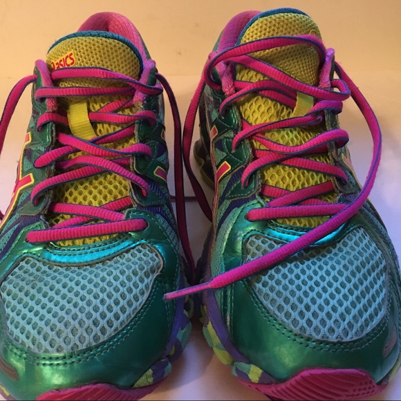 Asics Running Shoes Gel Sendai 3 Aqua